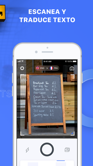 Screenshot for Triplens: Traductor de fotos in Colombia App Store