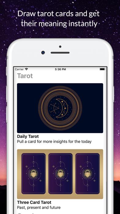 Instantgo: Horoscopes & Tarot screenshot three