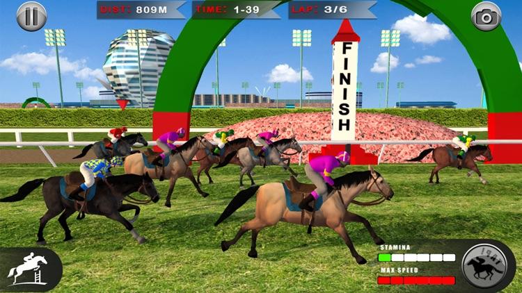 Horse Racing: 3D Riding Games screenshot-7