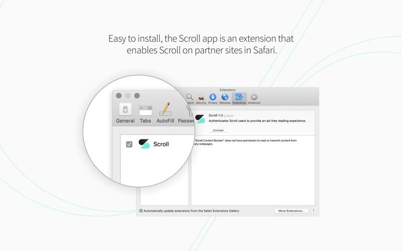 Scroll for Safari