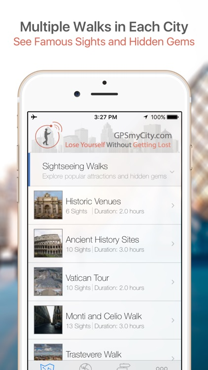 Paris Map & Walks (F) screenshot-0