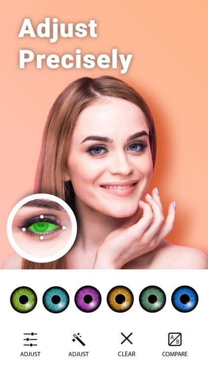 Eye Color Changer Editor screenshot-4