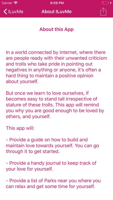 ILuvMe: Guide to Self Love screenshot #2