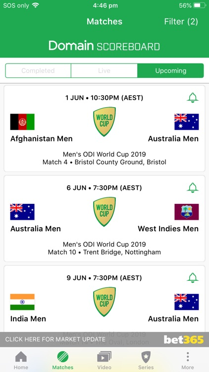 Cricket Australia Live screenshot-5