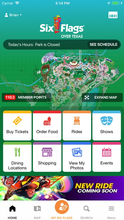 Six Flags by Six Flags Entertainment Corporation