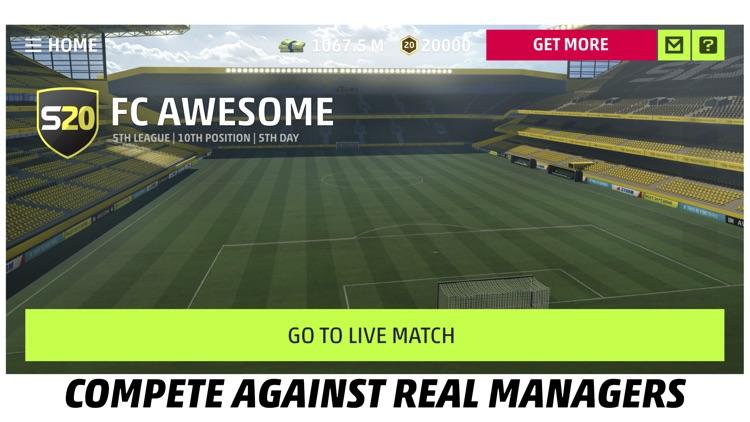 SEASON 20 Pro Soccer Manager screenshot-4