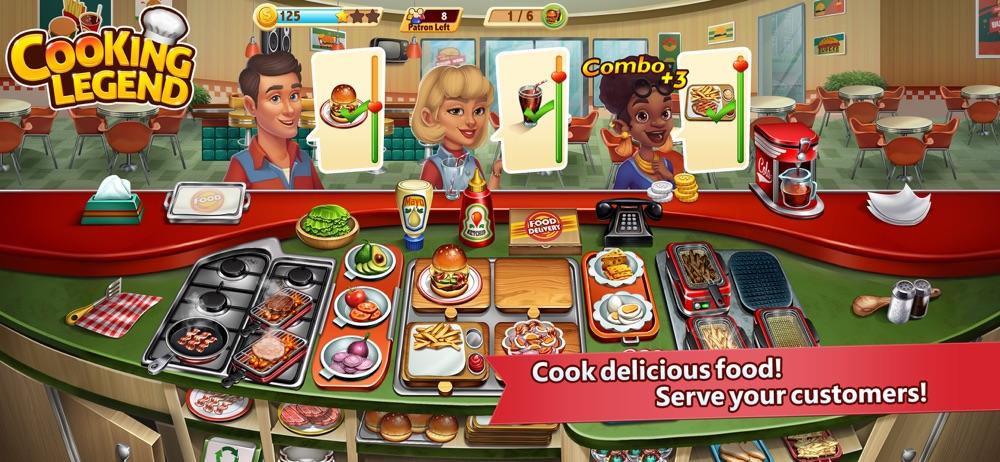Cooking Legend Restaurant Game Cheat Codes