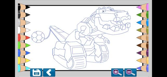 Dino Robot Boyama Kitabi App Store Da