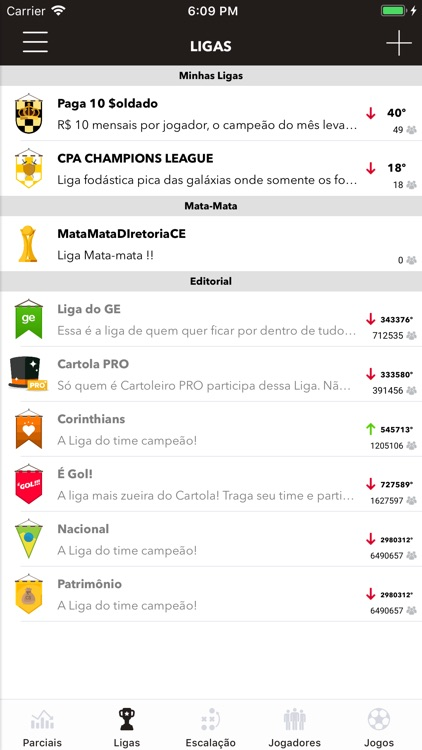 Cartolando Parciais screenshot-4