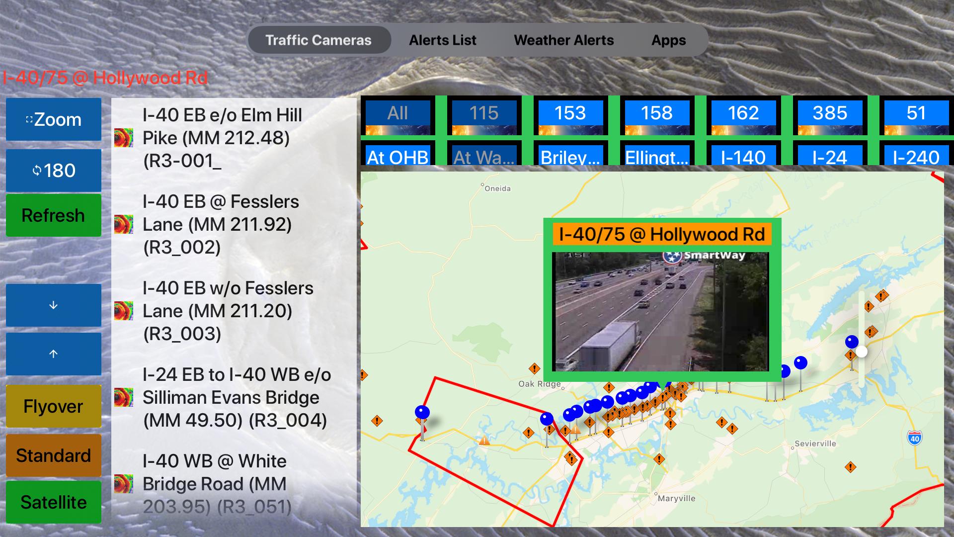 Traffic Cameras Tennessee Pro screenshot 22