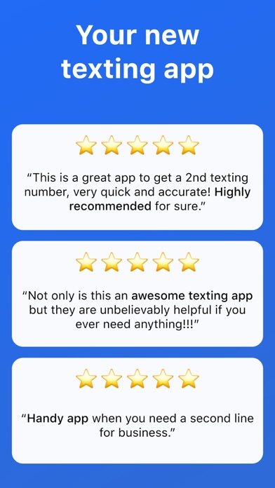 Second Texting Number app image