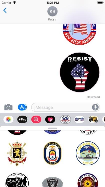 Stickers For Symbols USA