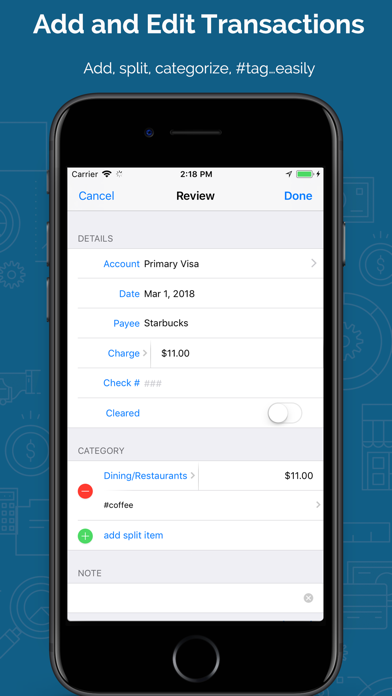 Banktivity: Personal Finance Screenshot