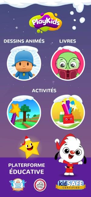 Vidéos et jeux Playkids dans Lapp Store
