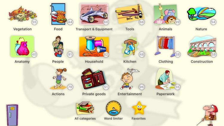 English Words for Children screenshot-3