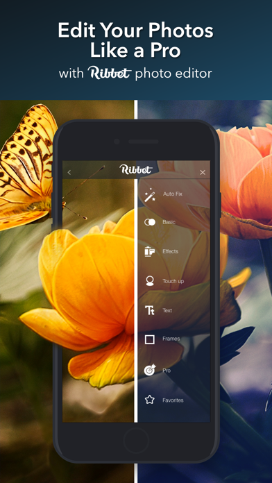 Ribbet™ Photo Editing Suite screenshot one