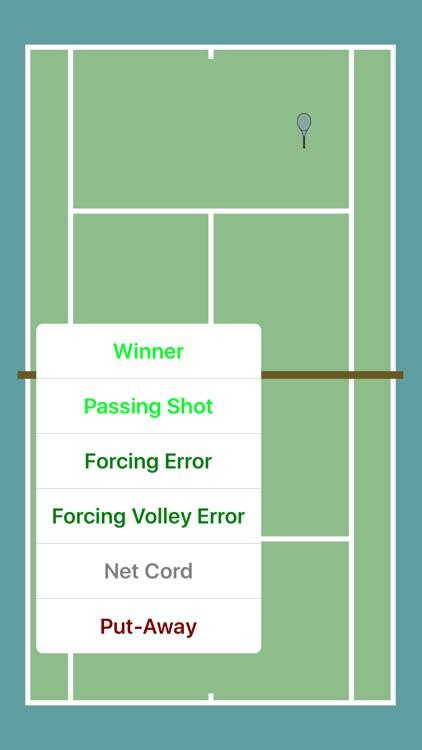 ProTracker Tennis screenshot-3