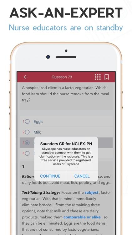 NCLEX RN Q&A + Tutoring (LWW) screenshot-4