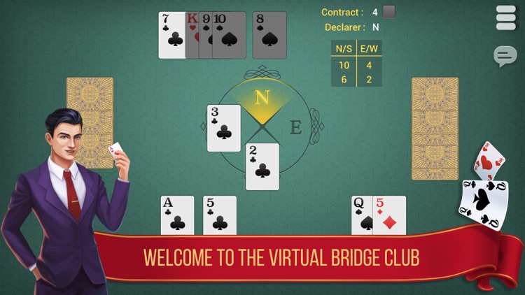 Bridge Card Game: A Lucky Day