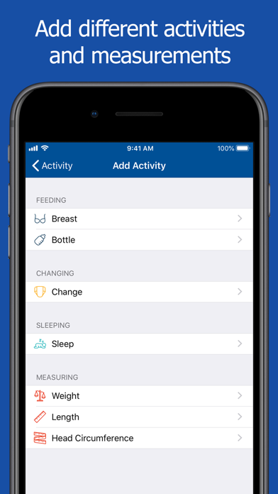 Dot - Baby Tracker app image