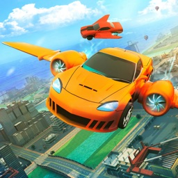 Fly Car City Stunt Game