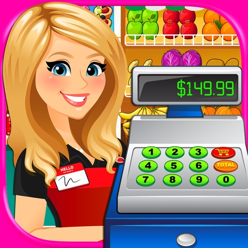 Supermarket Grocery Store Girl iOS App