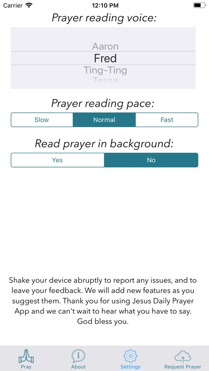 Jesus Daily Prayer App screenshot-4
