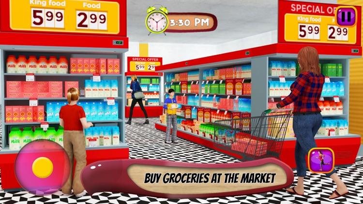 Virtual Mother: Baby Care Game screenshot-4