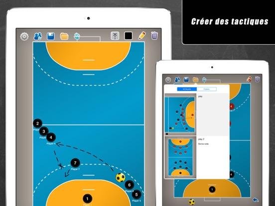 Screenshot #4 pour Planche Tactique: Handball++
