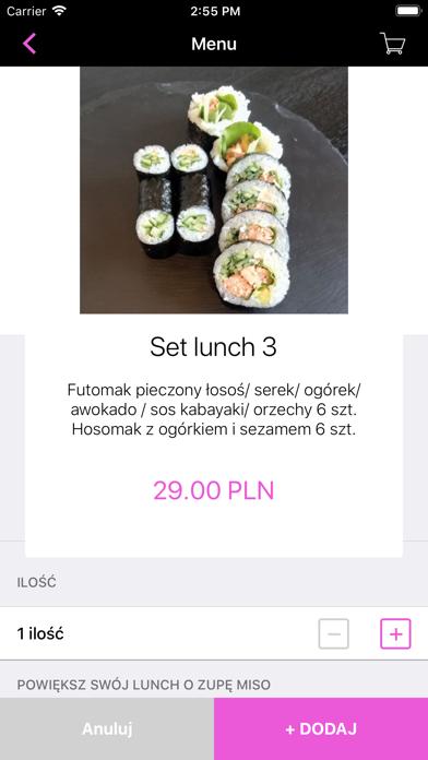 Yomayo Sushi Bar Siedlce screenshot 3