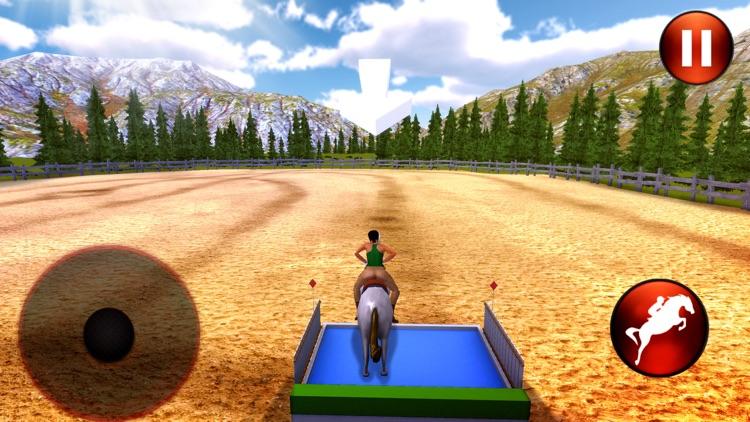Horse Riding 3D: Show Jumping screenshot-3
