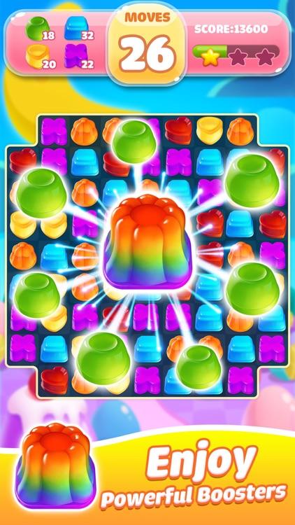 Jelly Jam Blast - Match 3 Game