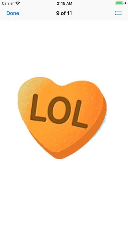 Fine Heart Stickers