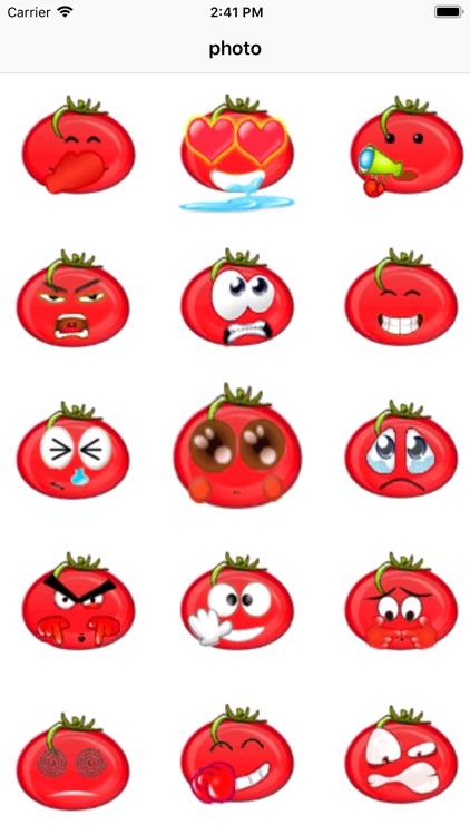 可爱番茄贴纸-816vip