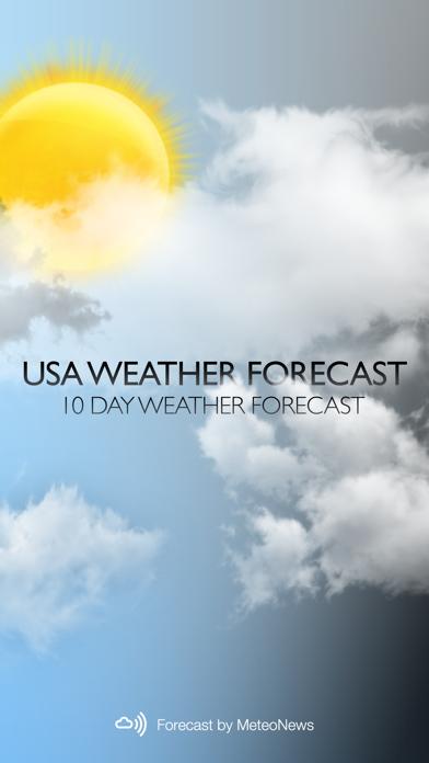 USA Weather forecastのおすすめ画像1