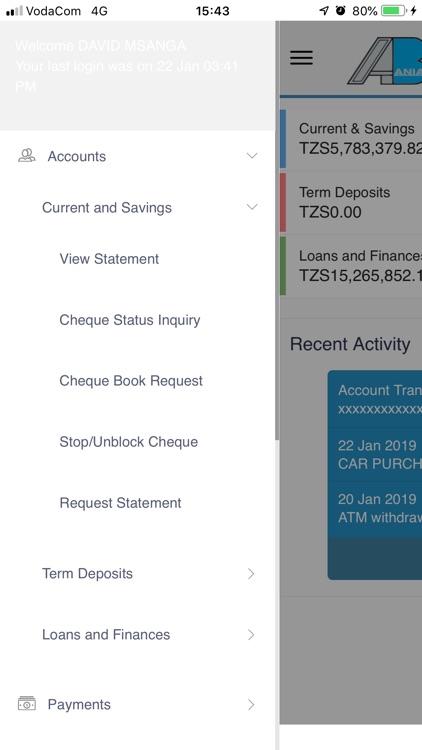AZANIA INTERNET BANKING APP screenshot-7