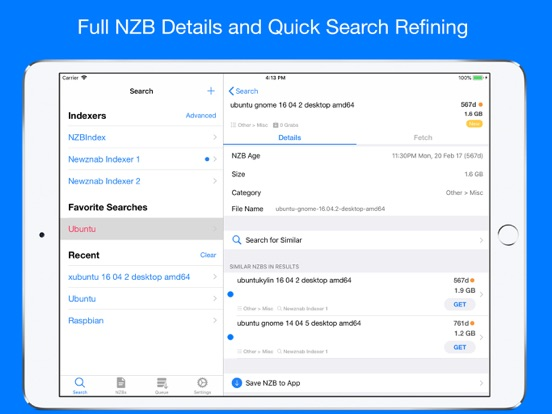 NZB Search for Newznab | App Price Drops