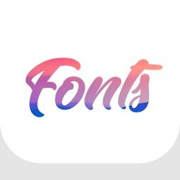 Fonts - Font & Symbol Keyboard