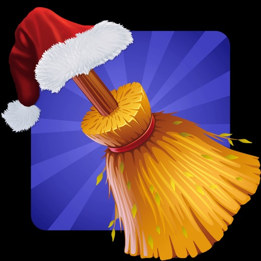 Santa On Broom - Help santa to distribute exciting gifts this year iOS App