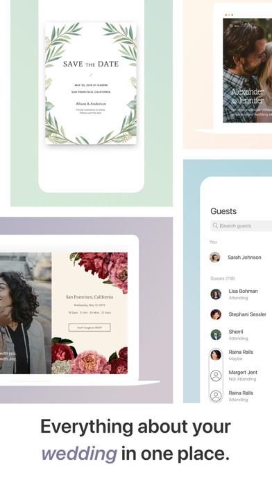 Joy - Wedding App & Website screenshot