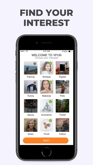 VFUN - Find your interests для ПК 1