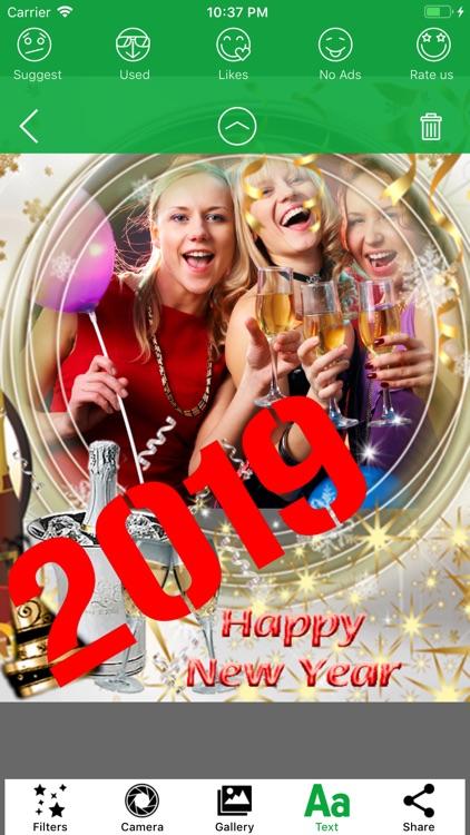 2020 Happy New Year Frames HD