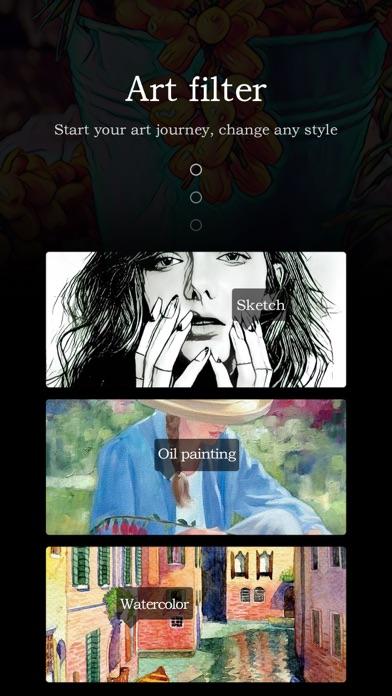 PicsArt - SketchAI prisma app screenshot two