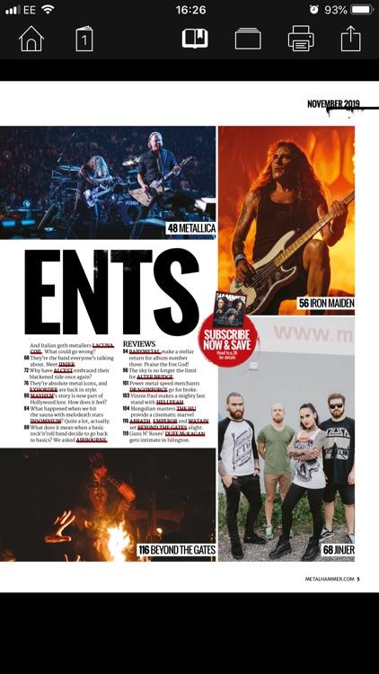 Metal Hammer Magazine screenshot-3