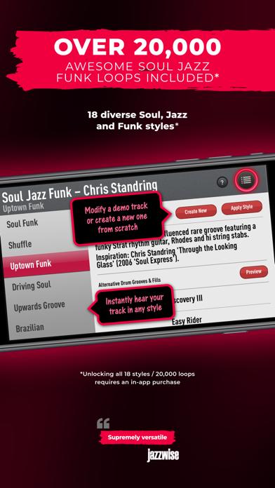 SessionBand Soul Jazz Funk 1 screenshot 3