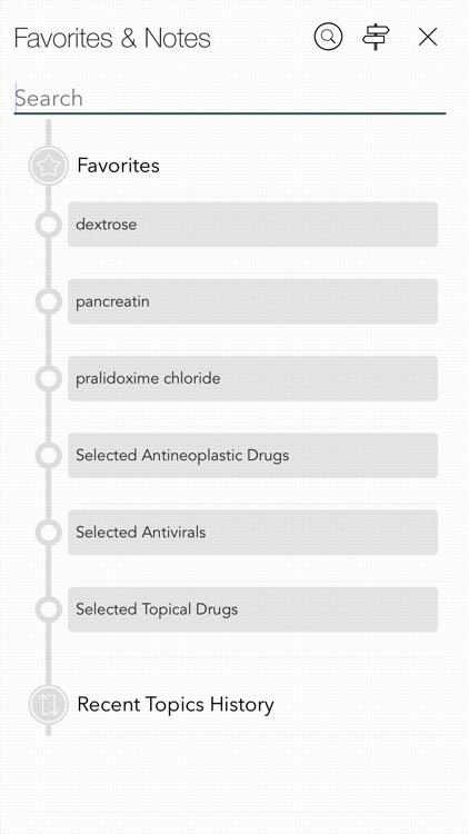 Nurse's Drug (Guide) Handbook screenshot-7