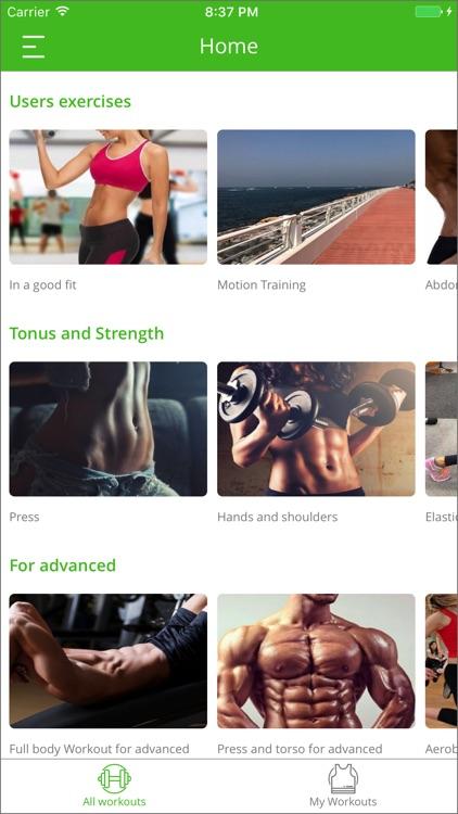 My coach -home workout trainer screenshot-0