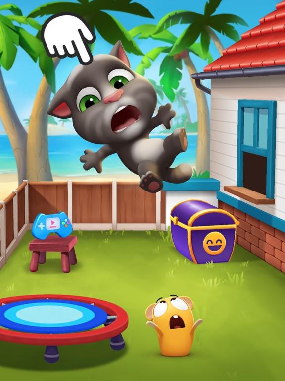 iPad Image of My Talking Tom 2