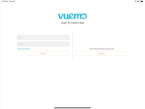 Ipad Screen Shot Vuemo 2