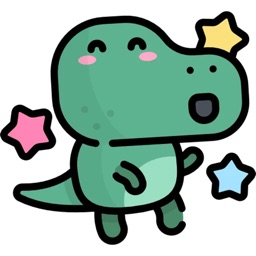 Cute Dinosaur Sticker Pack